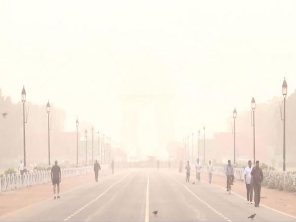 Visuals of India Gate [Photo/ANI]