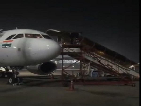 A visual of the pilots exiting through the secondary gate on March 20.