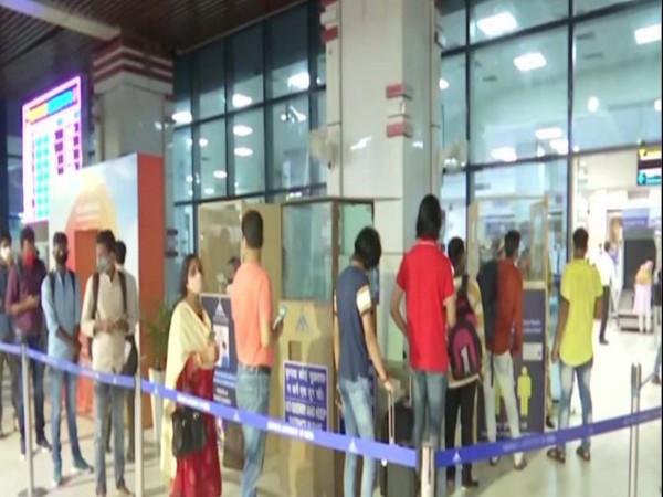 Jay Prakash Narayan Airport in Patna (Photo: ANI)