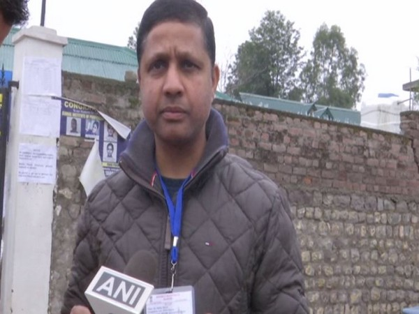 Shafiq Ahmed, Centre Superintendent at Government Boys Higher Secondary school examination centre, speaking to ANI.