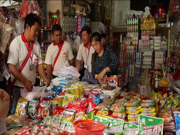 Ajinomoto products being sold in Cambodia