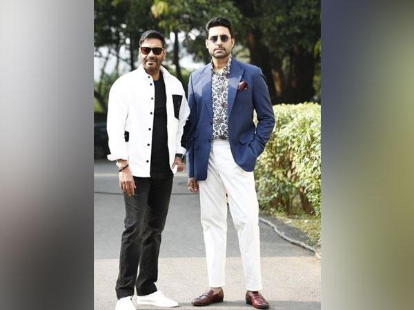 Ajay Devgn with Abhishek Bachchan (Image Source: Instagram)