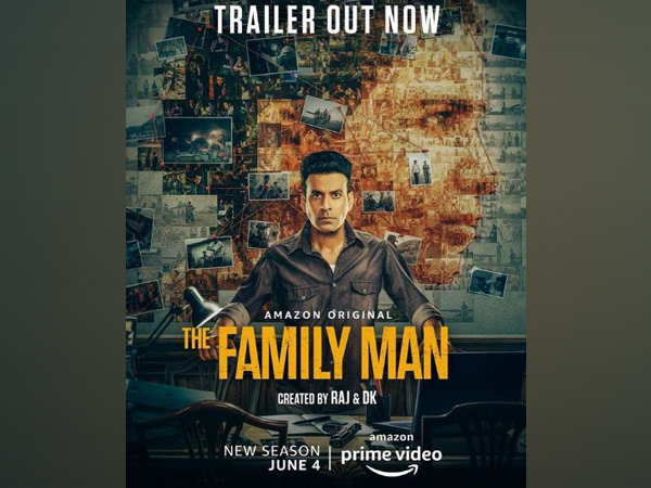 Poster of the 'The Family Man Season 2'  (Image courtesy: Instagram)