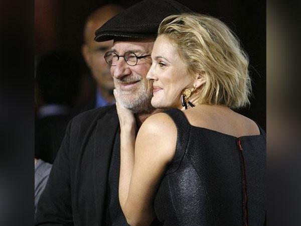 Steven Spielberg and Drew Barrymore