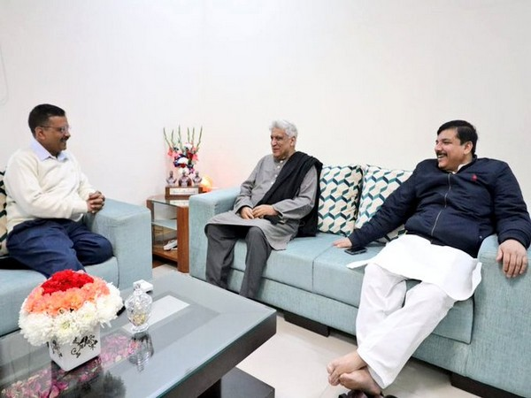 Visual from the meeting in New Delhi.