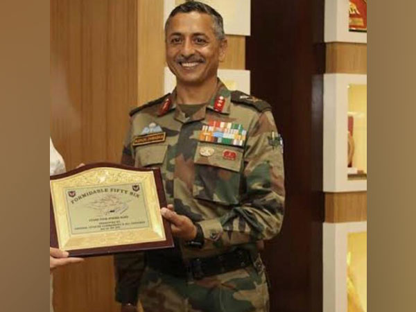 Major General AK Dhingra who has been appointed as the first head of Country's first tri-services Special Operations Division. Photo: ANI