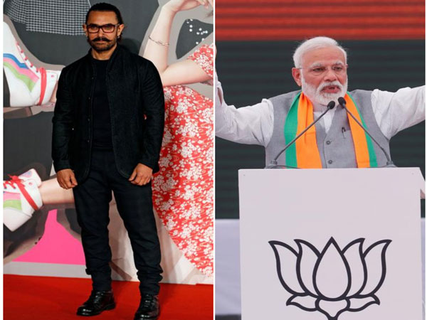 Aamir Khan and Prime Minister Narendra Modi