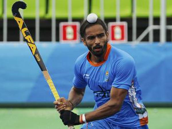 Indian Hockey player Akashdeep Singh
