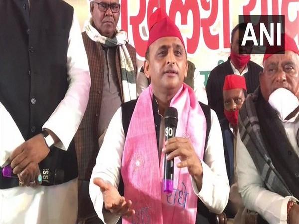 Samajwadi Party chief Akhilesh Yadav (File Photo/ANI)