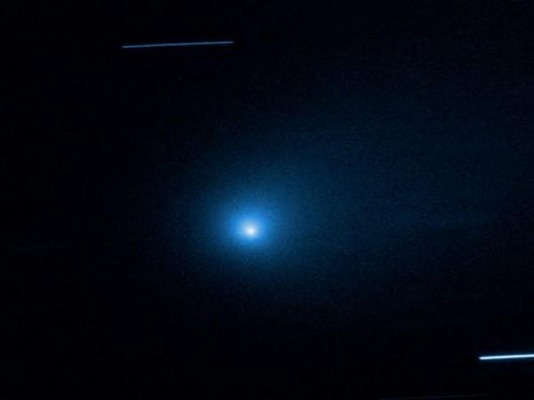 comet 2I/Borisov (Image courtesy: NASA)