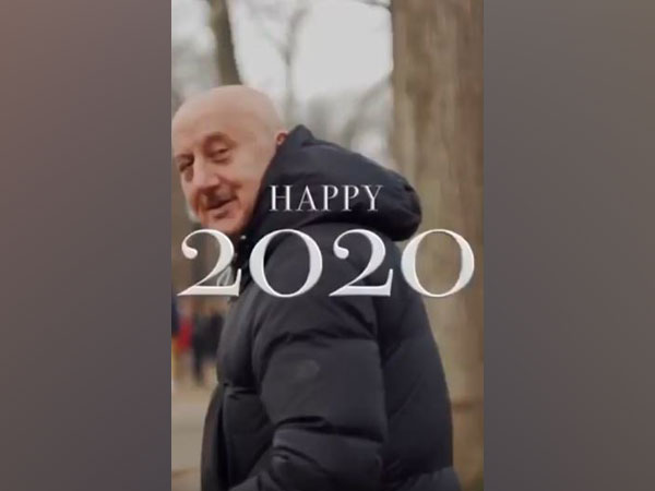 A still from the video featuring Anupam Kher (Image courtesy: Instagram)