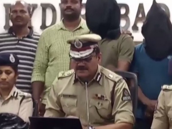 Hyderabad Police Commissioner Anjani Kumar speaking to reporters on Sunday. Photo/ANI