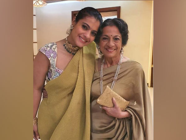 Kajol and Tanuja (Image courtesy: Instagram)