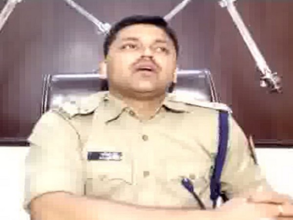 SP Alwar Anil Deshmukh talking to ANI on Saturday