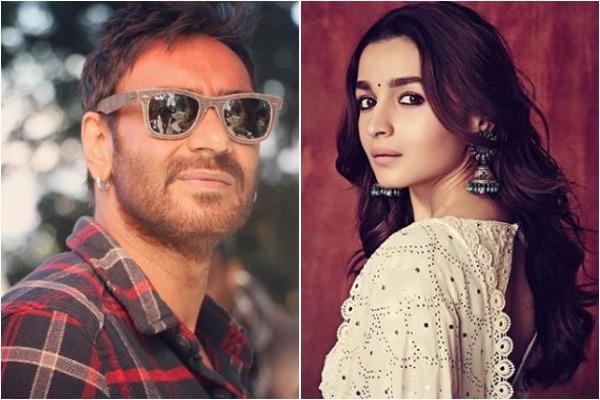 Ajay Devgn and Alia Bhatt, Image courtesy: Instagram