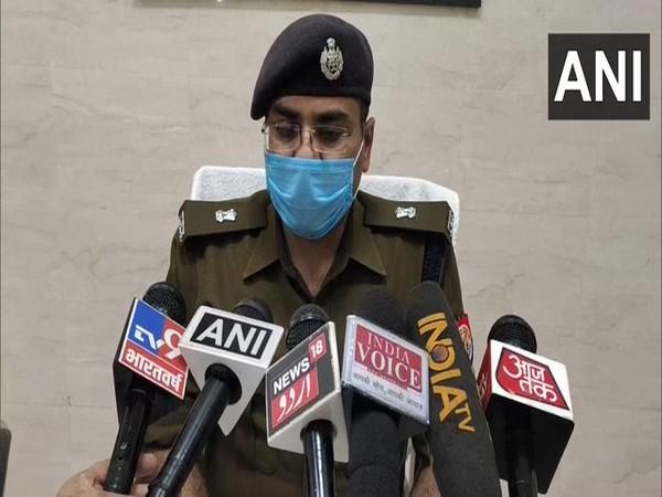 Kuldeep Singh, SP City speaking to media on Saturday. [Photo/ANI]