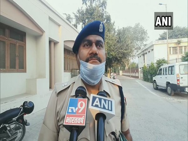 Arvind Kumar, SP, Crime, Aligarh speaks to media. (Photo/ANI)