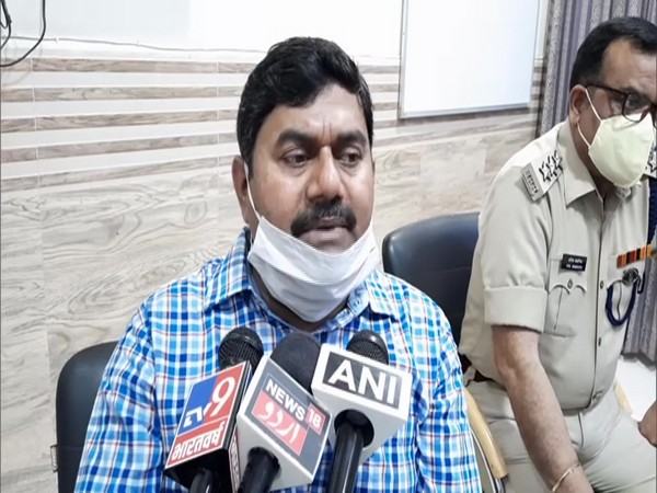 Suprindentant of Police Arvind Kumar speaks to the media about the case.