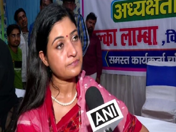 AAP MLA Alka Lamba speaking to ANI in New Delhi on August 4. Photo/ANI