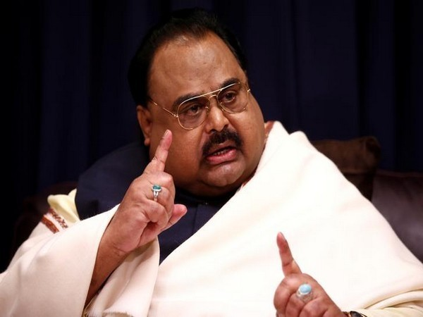 Muttahida Qaumi Movement (MQM) chief Altaf Hussain (File photo)