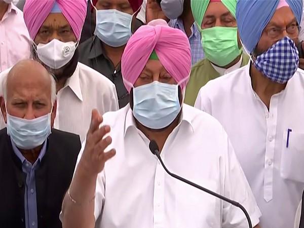 Punjab Chief Minister Captain (retired) Amarinder Singh (File photo)