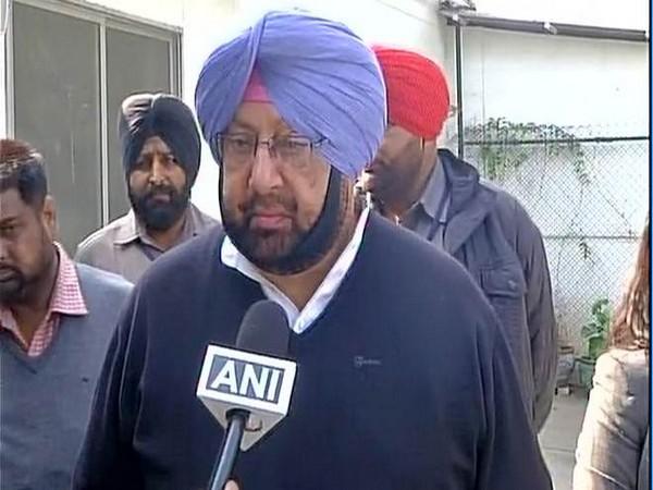 Punjab Chief Miniter Amarinder Singh (File photo)