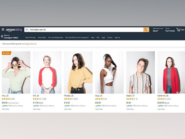 """Each """"item"""" includes product details such as the person's height, love language and a brief list of their likes, dislikes, and qualities (Picture Courtesy: amazondating.co)"""
