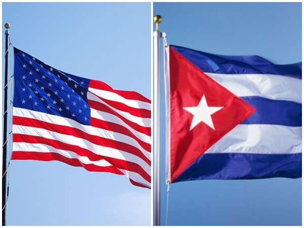 Flagsof America and Cuba. (Representative Image)