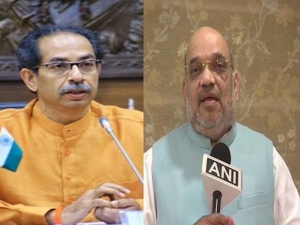 Maharashtra Chief Minister Uddhav Thackeray (left), union Home Minister Amit Shah (right). (File photos)