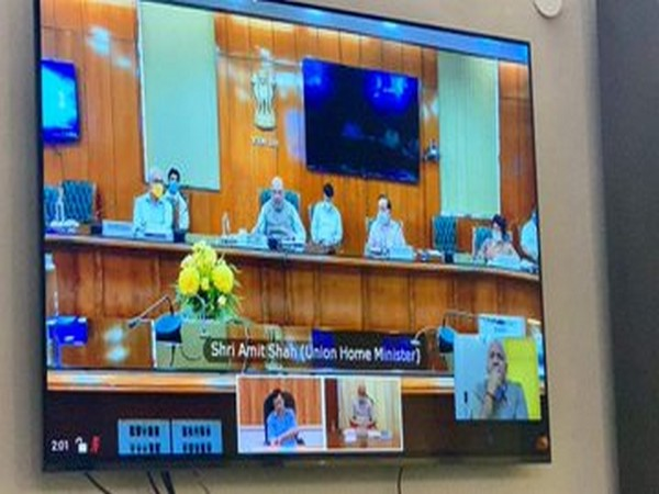 Delhi CM Arvind Kejriwal, Deputy CM Manish Sisodia holding virtual meeting with Home Minister Amit Shah over COVID-19 situation in Delhi