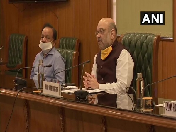 Union Home Minister Amit Shah. [Photo/ANI]