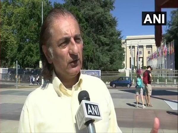 Amjad Mirza, a Pakistan occupied Kashmir political activist