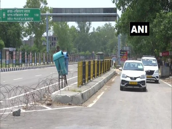 Five officials of the Indian Embassy in Pakistan returned to India today via the Attari-Wagah border in Amritsar.