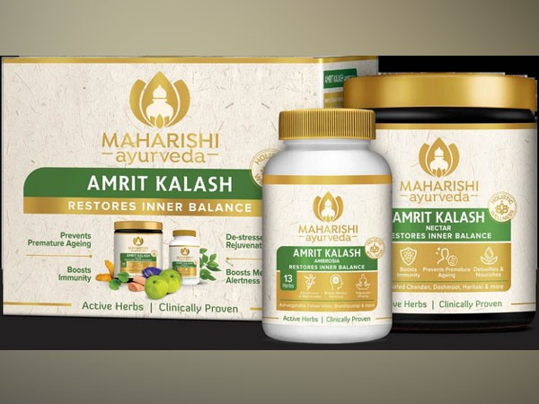 Milind believes that Maharishi Amrit Kalash is a key to enhance healthy living.