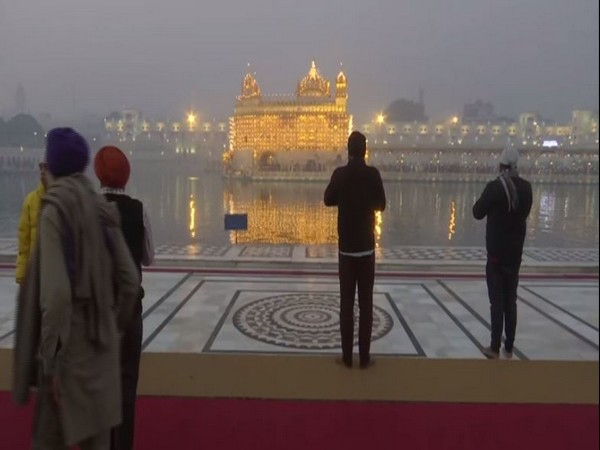 Visuals from Golden Temple, Amritsar.