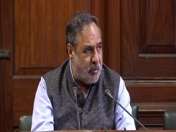 Congress leader Anand Sharma speaking to media in New Delhi on Wednesday.