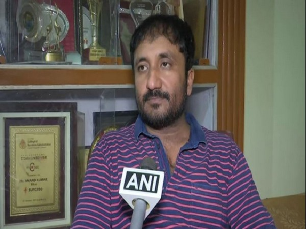Anand Kumar, the educationist and mathematician on whom the movie SUPER 30 is based. (Photo/ANI)