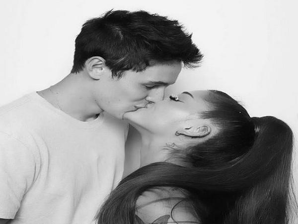 Ariana Grande, Dalton Gomez (Image source: Instagram)