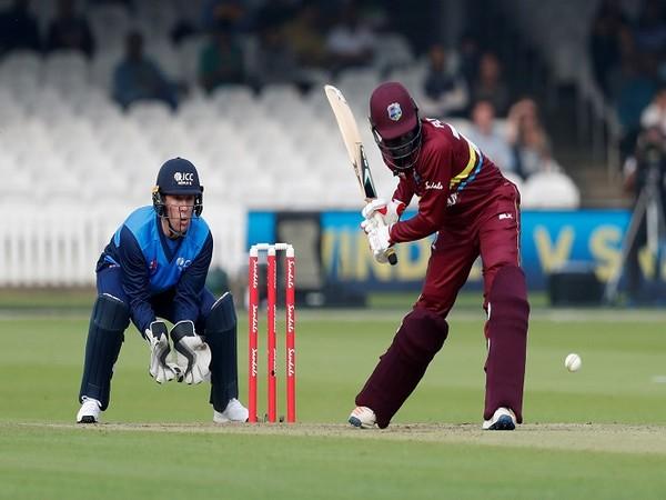 West Indies cricketer Andre Fletcher