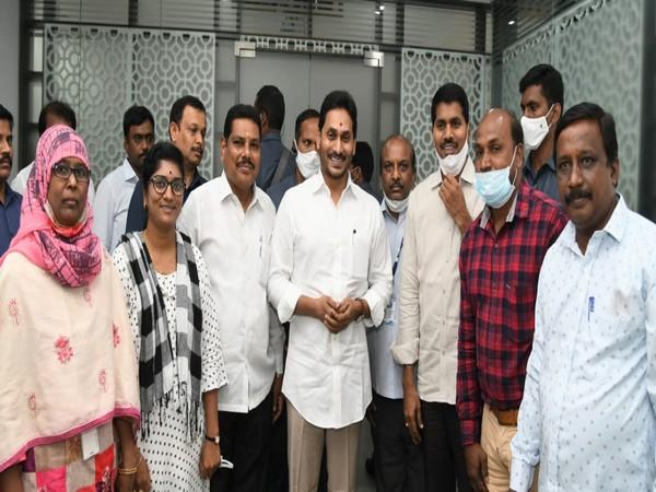 Andhra Pradesh Chief Minister YS Jaganmohan Reddy