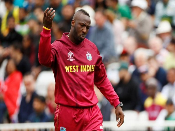 West Indian all-rounder Andre Russell