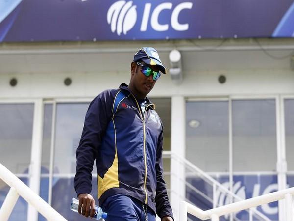 Sri Lanka's Angelo Mathews. (file image)