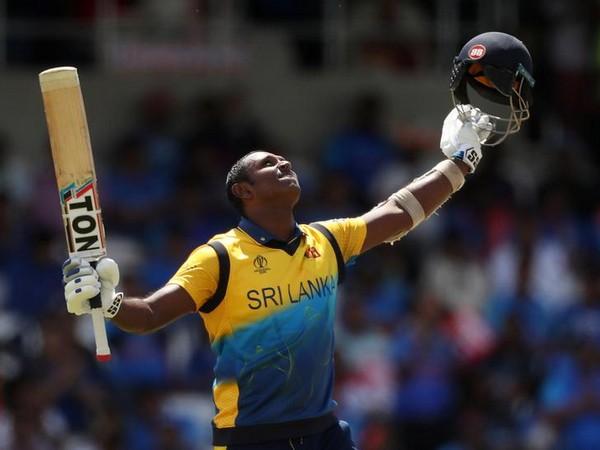 Sri Lankan batsman Angelo Mathews