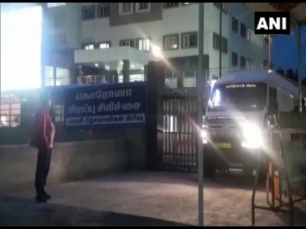 Visuals from Madurai jail hospital (Photo/ANI)