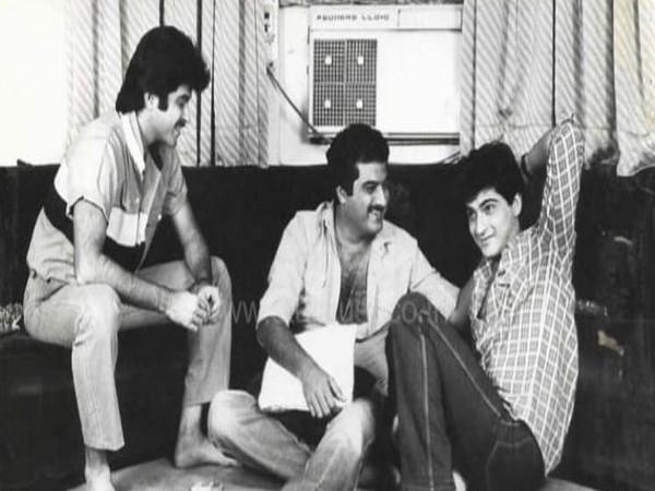 Three brothers -- Anil, Boney and Sanjay Kapoor (Image courtesy: Twitter)