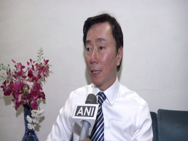 Vietnam's Ambassador to India, Pham Sanh Chau, speaking to ANI in New Delhi on Wednesday (Photo/ANI)