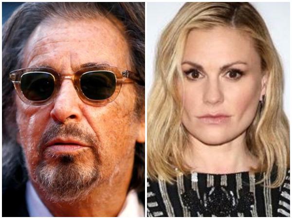 Al Pacino and Anna Paquin (Picture courtesy: Instagram)
