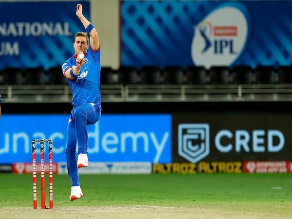 Delhi Capitals pacer Anrich Nortje. (Image: BCCI/IPL)