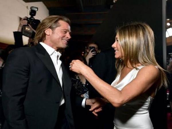 Jennifer Aniston and Brad Pitt (Image source: Instagram)