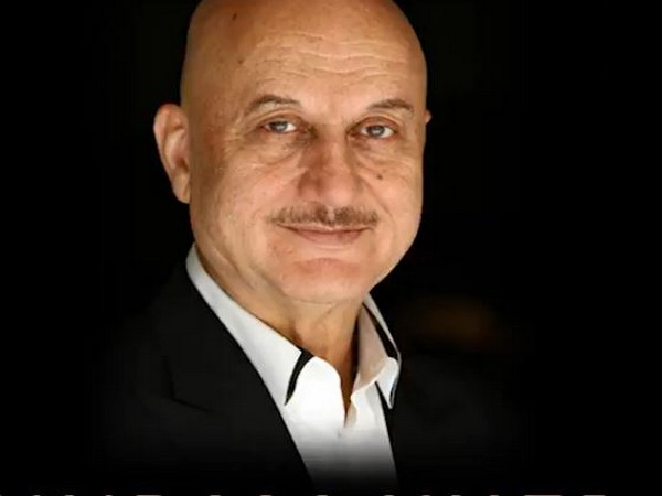 Bollywood actor Anupam Kher (Image Source: Twitter)